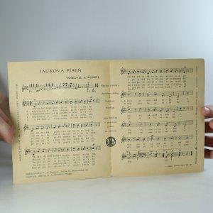 antikvární kniha Jackova píseň, neuveden