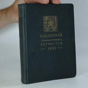 náhled knihy - Kalendář československého četnictva 1931