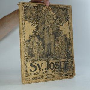 náhled knihy - Sv. Josef. Kalendář přátel opuštěných dítek na rok 1933