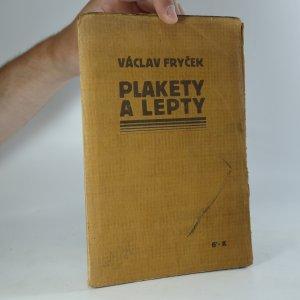 náhled knihy - Plakety a lepty. 1917-1918