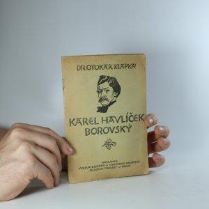 náhled knihy - Karel Havlíček Borovský (je cítit zatuchlinou)