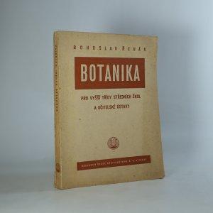 náhled knihy - Botanika pro vyšší třídy středních škol a učitelské ústavy (Je cítit zatuchlinou)