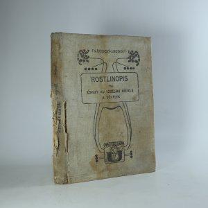 náhled knihy - Rostlinopis pro ústavy ku vzdělání učitelů a učitelek.(Je cítit zatuchlinou)