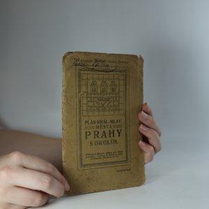náhled knihy - Plán královského hlavního města Prahy s okolím. 1:20 000. (Je cítit zatuchlinou)