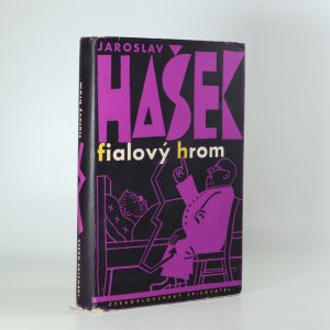 náhled knihy - Fialový hrom