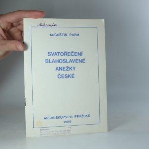 náhled knihy - Svatořečení Anežky České (Řím, 12.11.1989)