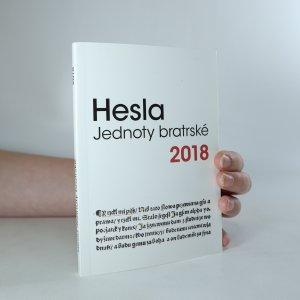 náhled knihy - Hesla Jednoty bratrské 2018