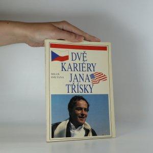 náhled knihy - Dvě kariéry Jana Třísky