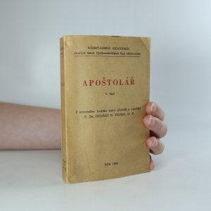 náhled knihy - Apoštolář (I. část)