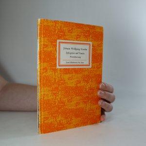 náhled knihy - Iphigenie auf Tauris