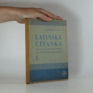 náhled knihy - Latinská čítanka pro V. třídu gymnasií a reál. gymnasií, pro VI. třídu reformních reál. gymnasií