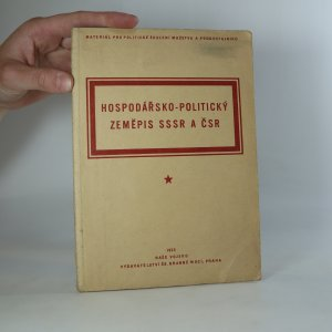 náhled knihy - Hospodářsko politický zeměpis SSSR