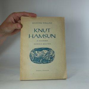 náhled knihy - Knut Hamsun a soudobá norská beletrie