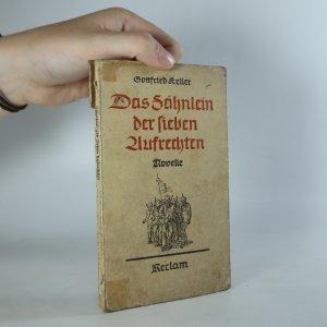náhled knihy - Das Fahnlein der sieben Aufrechten