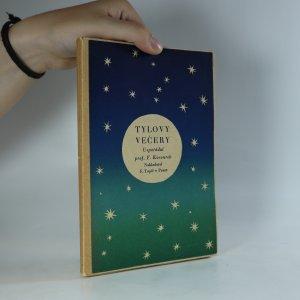 náhled knihy - Tylovy večery