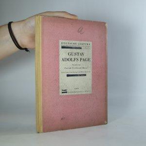 náhled knihy - Gustav Adolfs Page Novelle