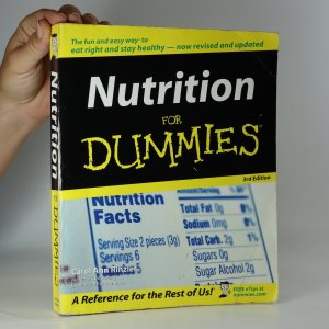 náhled knihy - Nutrition for Dummies