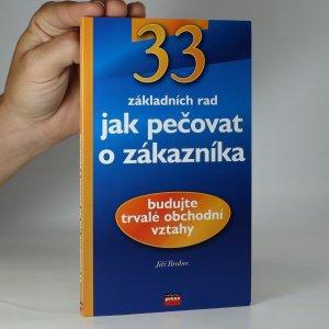 náhled knihy - 33 rad jak pečovat o zákazníka