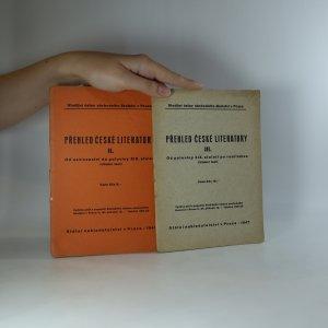 náhled knihy - Přehled české literatury (II.-III. díl)