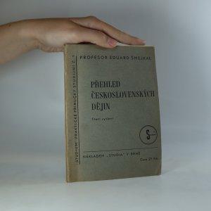 náhled knihy - Přehled československých dějin