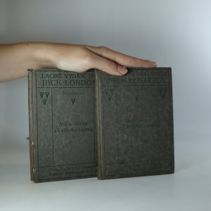 náhled knihy - Malá dáma z Velikého Domu I.-II.