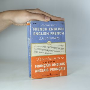 náhled knihy - Larousse's French-English/English-French dictionary. Two Volumes in One.