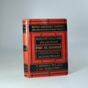 náhled knihy - Nový kapesní slovník italsko-český a cestovní příručka