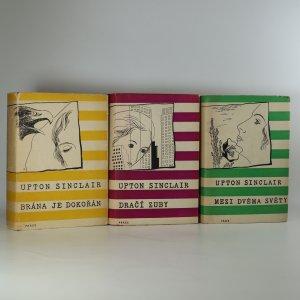 náhled knihy - 3x série Lanny Budd: Brána dokořán, Dračí zuby, Mezi dvěma světy