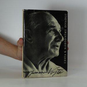 náhled knihy - Cesta k Národnímu divadlu (podpis autora)