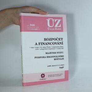 náhled knihy - Rozpočet a financování