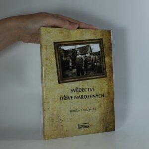 náhled knihy - Svědectví dříve narozených