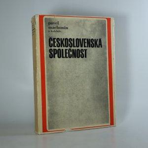 náhled knihy - Československá společnost. Sociologická analýza sociální stratifikace