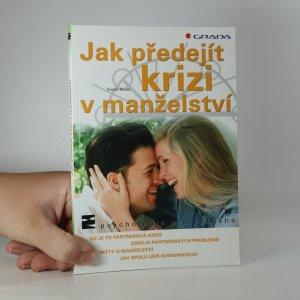 náhled knihy - Jak předejít krizi v manželství