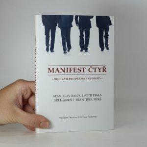 náhled knihy - Manifest čtyř. Program pro přátele svobody