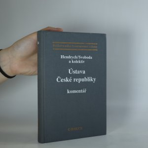 náhled knihy - Ústava České republiky. Komentář