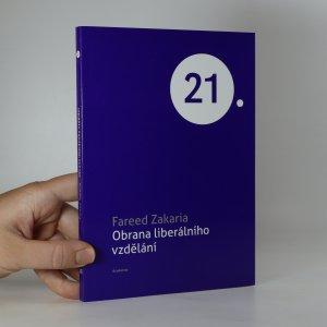 náhled knihy - Obrana liberálního vzdělání