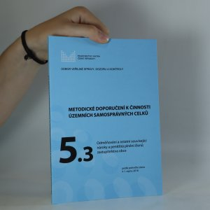 náhled knihy - Metodické doporučení k činnosti územních samosprávných celků