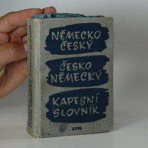 náhled knihy - Německo-český a česko-německý kapesní slovník