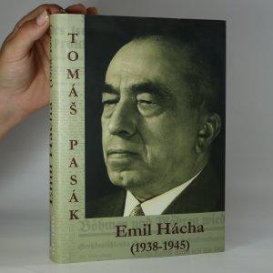 náhled knihy - Emil Hácha (1938-1945)
