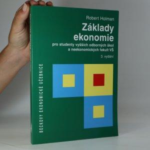 náhled knihy - Základy ekonomie pro studenty vyšších odborných škol a neekonomických fakult VŠ