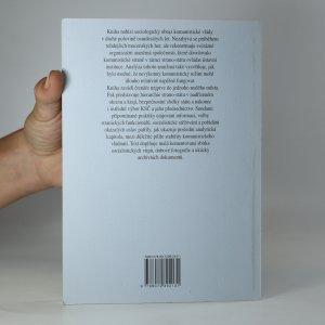 antikvární kniha Jak vládli? Průvodce hierarchiemi reálného socialismu, 2008