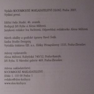 antikvární kniha Teorie modernizace, 2007