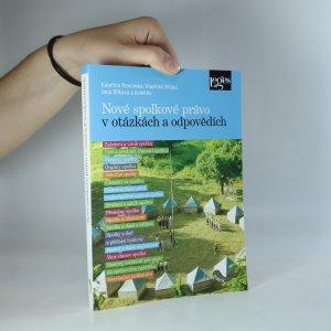 náhled knihy - Nové spolkové právo v otázkách a odpovědích
