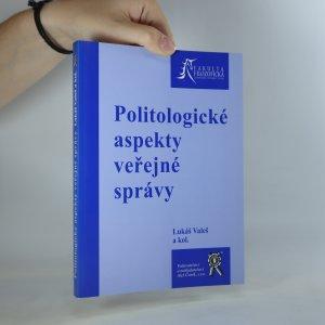 náhled knihy - Politologické aspekty veřejné správy