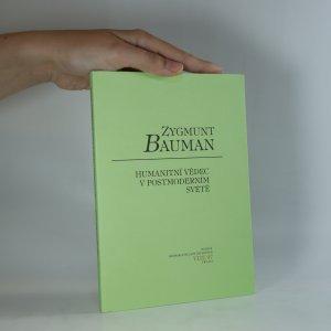 náhled knihy - Zygmunt Bauman. Humanitní vědec v postmoderním světě