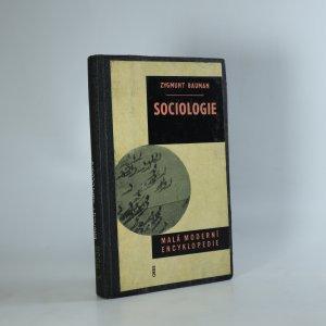 náhled knihy - Sociologie. Malá moderní encyklopedie