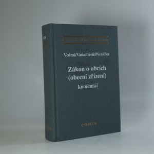 náhled knihy - Zákon o obcích (obecní zřízení). Komentář