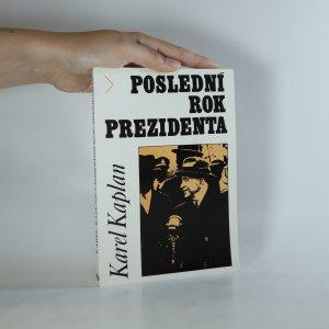 náhled knihy - Poslední rok prezidenta