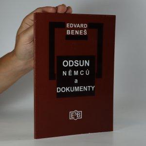 náhled knihy - Odsun Němců a dokumenty