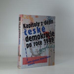 náhled knihy - Kapitoly z dějin české demokracie po roce 1989
